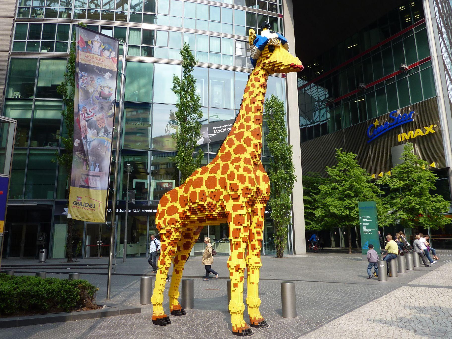 lego giraffe legoland discovery center berlin. Black Bedroom Furniture Sets. Home Design Ideas