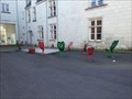 Image for chaises multicolores,Chatellerault, France