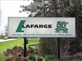 Image for The Lafarge Construction Materials Quarry (Brockville, Ontario)