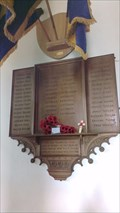 Image for War Memorial, St.Luke's Church, Church Road, Tiptree, Essex.