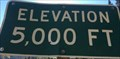 Image for Hwy 49 at Big Springs - Elevation 5000 feet - California