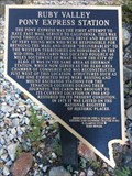 Image for Ruby Valley Pony Express Station