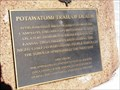 Image for Potawatomi Trail of Death Marker, Riverton, Illinois.