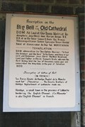 Image for Inscription on the Big Bell of the Old Cathderal - Vincennes, IN