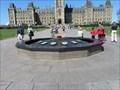 Image for FIRST - time centennial flame was lit - PREMIÈRE - fois que la flamme du centenaire fut allumée - Ottawa, Ontario