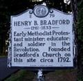 Image for Henry B. Bradford, Marker E-79