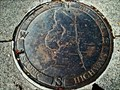 Image for Area map and Compass Rose - Castlegar, BC