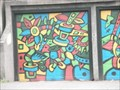 Image for Colorful Abstract Garage Doors - Portland, Oregon