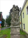 Image for The statuary of St. Barbara and Virgin Mary - Hlušice, Czech Republic