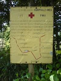 Auf dem Franken-Hessen-Kurpfalz-Weg