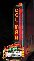 Image for Del Mar theater neon - Santa Cruz, California