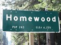 Image for Homewood, CA (Northern Approach) - 6235'