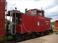 Image for CW&C caboose #10 - Indiana Railway Museum, French Lick