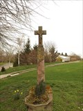 Image for Way Cross at the outskirt of the village Gladbach - NRW / Germany