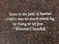 Image for Winston Churchill - Memorial Park - Cupertino, CA