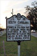 Image for FIRST -- English settlers in South Carolina, Pineville NC