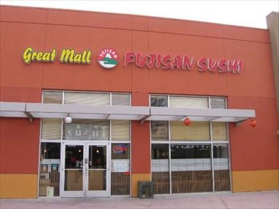 Fujisan Sushi Great Mall Milpitas Ca Restaurants On Waymarking
