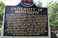 Image for FIRST -- African-American Student at the University of Mississippi, Oxford MS