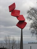 Image for Flip - Kinetic Sculpture. Taupo. New Zealand.