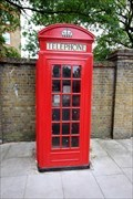 Image for Red Telephone Box - St Peter's Way, London, UK