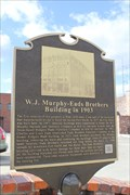 Image for W. J. Murphy - Eads Brothers Building in 1903 -- Ft Smith AR