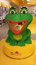 Image for Duplo frog, Lego Store - Messestadt Riem, München, Bavaria, Germany