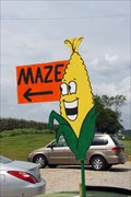 Image for Choestoe Valley Produce Corn Maze – Blairsville, GA