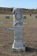 Image for Rev. Edwin N. Lewis -- Winchell Cemetery, Brown Co. TX