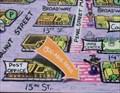 Image for Pearl Street Mall Map (15th St.) WEST - Boulder, CO