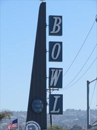 Palos Verdes Bowl Sign, Torrance, California