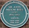 Image for Sir John Milsom Rees - Upper Wimpole Street, London, UK