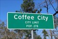 Image for Coffee City, TX - Population 278