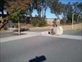 Image for Burnett Bridge compass rose - Cupertino, CA