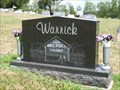 Image for Harley E. Warrick grave - Belmont, Ohio