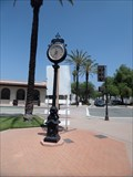 Image for Mission District Street Clock  -  San Gabriel, CA