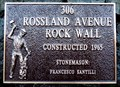 Image for 306 Rossland Avenue Rock Wall - 1965 - Trail, BC