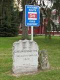 Image for Site of Gurdon Hubbard Trail, Dixie Highway, milestone markers - Crete, IL
