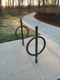 Image for Abstract Bike Rack - McKinney Tx.