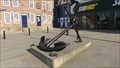 Image for Recovered Anchor On Seafront – Scarborough, UK