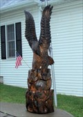 Image for Town Hall Carved Eagle  -  Grafton, NY