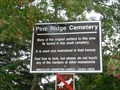 Image for Pine Ridge Cemetery - Birds Hill Provincial Park MB
