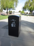 Image for Lone Tree Creek Park Solar Power Trash Can - Fremont, CA