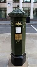 Image for [REPLICA] Victorian Post Box - St Martin's Le Grand, London, UK
