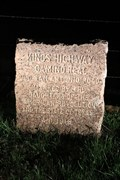 Image for El Camino Real -- DAR Marker No. 22, SH 21 west of Alto TX