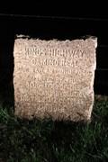 Image for El Camino Real -- DAR Marker No. 22, SH 21 west of Alto TX