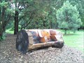 Image for Carved Log Seat - Irondequoit, NY