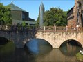 "Image for Arch Bridge at Water castle ""Burg Vilbel"" - Hessen / Germany"