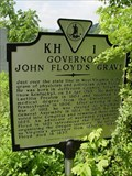 Image for Governor John Floyd's Grave