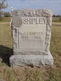 Image for Dr. J.J. Shipley - Bloomfield-Jones Cemetery - Cooke County, TX