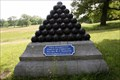 Image for Rosecrans' Headquarters Shell Monument - Chickamauga National Military Park